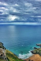 Seascape (Japo Garca) Tags: seascape azul mar playa paisaje nubes tormenta montaa olas calma acantilado fotografa bello garca japo