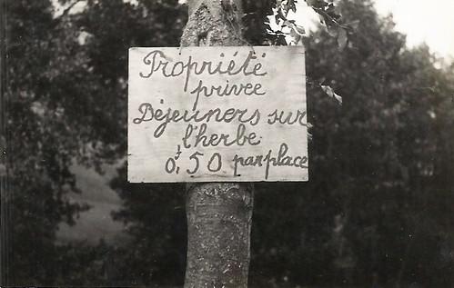 Déjeuner sur l'herbe 1933