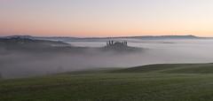 Morning Fog (MrBlackSun) Tags: italy tuscany pienza orcia d810