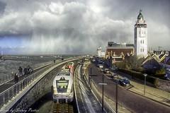 Storm in Harlingen (sidneyportier) Tags: storm holland netherlands nederland vuurtoren friesland fryslan harlingen frisian ligthouse nikon18105mm nikond3100