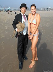 Dr. Takeshi Yamada and Seara (Coney Island Sea Rabbit) at the winter swimming event by the Coney Island Polar Bear Club at the Coney Island Beach in Brooklyn, New York on January 10 (Sun), 2015.  mermaid.  20160110Sun DSCN3332=2020pC1. Ikkyuu (searabbits23) Tags: winter ny newyork sexy celebrity art beach fashion animal brooklyn asian coneyisland japanese star yahoo costume tv google king artist dragon god cosplay manhattan wildlife famous gothic goth performance pop taxidermy cnn tuxedo bikini tophat unitednations playboy entertainer samurai genius donaldtrump mermaid amc mardigras salvadordali billclinton hillaryclinton billgates aol vangogh curiosities bing sideshow jeffkoons globalwarming takashimurakami pablopicasso steampunk damienhirst cryptozoology freakshow barackobama polarbearclub seara immortalized takeshiyamada museumofworldwonders roguetaxidermy searabbit ladygaga climategate