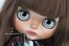 Hello Lola!! (*SO-CALLED BLYTHE* by so-called anna) Tags: lola childish customblythe ooakblythe custombysocalledanna freckledblythe socalledblytheeyechips socalledblythecustomdolls