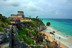 tulum mayan riviera mexico (Rex Montalban Photography) Tags: mexico yucatan tulum mayanruins hdr mayanriviera rexmontalbanphotography