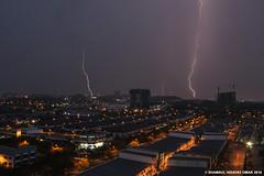 February 14 2016 Lightning 1 (Shamsul Hidayat Omar) Tags: photography nikon raw ken malaysia lightning omar selangor shah alam rimba hidayat weathers greatphotographers kilat shamsul d800e