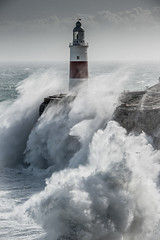 Stormy Weather, Europa Point Lighthouse, Gibraltar (David Parody) Tags: davidparodyfreelancephotographergibraltar