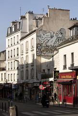 Zoo Project & WXYZ. Rue de Bagnolet, Paris (Clement Guillaume) Tags: street streetart paris bird art project painting zoo drawing bilal oiseau homme grafs 75020 parisstreetart ruedebagnolet wxyz zooproject berreni bilalberreni