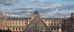 Facciata Louvre - Pyramide Napoleon (frillicca) Tags: paris architecture march îledefrance louvre front francia pyramide marzo architettura parigi facciata 2015 pyramidenapoleon