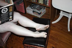 Science Fiction (strakatana) Tags: nude book barefoot