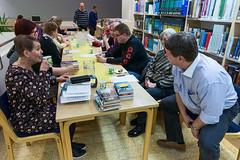 Kirjakahvila 9.3.2016 (Iisalmen kaupunginkirjasto) Tags: suomi finland libraries iisalmi kirjastot kirjakahvila iisalmenkaupunginkirjasto iisalmicitylibrary ipanaiisalmi