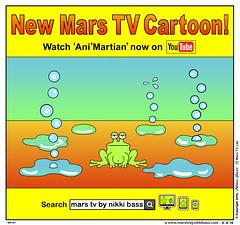 Ani'Martian (nikkibass20) Tags: new original mars green cool comedy different space humor humour ufo aliens robots entertainment jokes kawaii friendly planets et cartoons extraterrestrial toons entertaining martians knobby animationseries marstv nikkibass