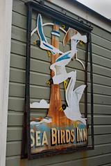 Sea birds inn (jimj0will) Tags: beach colors coast colours southwold beachhuts