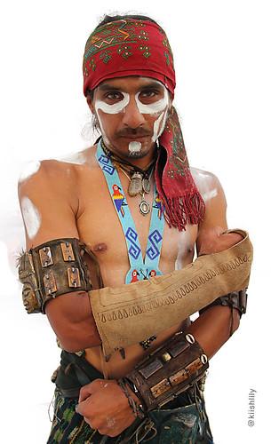Jugador juego de pelota maya