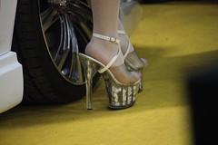 Tokyo Auto Salon 2016 (carlotorinese) Tags: auto sexy feet girl japan tokyo toes salon pantyhose nylon 2016