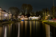 Weesp by night (a3aanw) Tags: longexposure nikon nacht hdr d800 1635 weesp avondfotografie