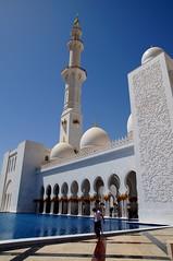Sheikh Zayed Grand Mosque Abu Dhabi UAE (Mathias Apitz (München)) Tags: sheikh zayed grand mosque abu dhabi uae vae vereinigte arabische emirate united arabic emirates abudhabi travel reise holiday urlaub corniche palace moschee night city nachtfotos nacht wolkenlos mathias apitz
