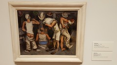 part of the new acquisitions at the Mia (Mamluke) Tags: white men art minnesota museum painting clothing rear 1940 minneapolis tags bum dressing clothes collection 1940s cheeks mia frame dressingroom clowns blanc hommes kuhn undressing nameplate minneapolisinstituteofarts acquisition undressed mamluke waltkuhn clownsdressing