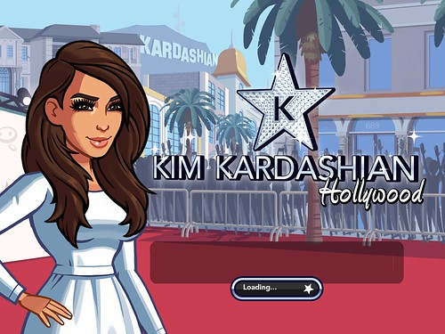 Kim Kardashian: Hollywood Loading: screenshots, UI