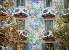 Arquitectura enigmtica (Txulalai) Tags: barcelona travel canon arquitectura gaud urbana canoneos modernismo canoneos550d