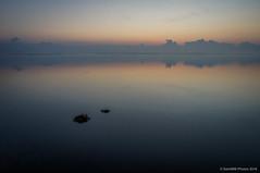 Cuando clarea (SantiMB.Photos) Tags: autumn reflection clouds sunrise geotagged lagoon amanecer nubes reflejo otoo laguna francia fra languedocroussillon fitou leucate 2ig 2tumblr sal18250 2blogger geo:lat=4287315716 geo:lon=299854875