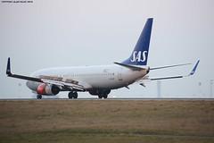 SAS Scandinavian Airlines Boeing 737-8