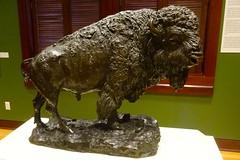 Monarch Of The Plains (pecooper98362) Tags: sculpture newyork bronze buffalo bison commentary corning bisonbison excessiveconsumption westernart rockwellmuseum henrymerwinshrady monarchoftheplains