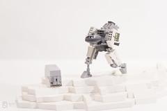 Fast Mover (saarstar15) Tags: wolf lego custom build clan decals mechwarrior jenner mecha battletech moc summoner jadefalcon
