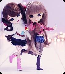 ( MaL Pink  ) Tags: girls girl doll dolls sandy hipster style mia pullip nina boneca greggia malupink