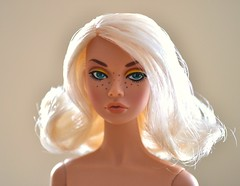 Day tripper Poppy Parker (Angelcollector87) Tags: yellow doll day tripper poppy freckles platinum parker freckled
