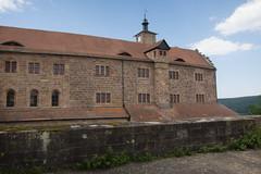 Castle living quarters (quinet) Tags: castle germany schloss chteau 2012 castleroad burgenstrase