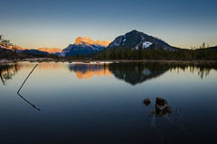 Vermilion Lakes Sunset (michael__williamson) Tags: sunset landscape banff rockymountains vermilionlakes