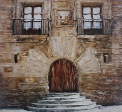 Palacio Revillagigedo (Gijn) (CarlosConde/Photography) Tags: polaroid sx70 arquitectura gijn asturias palacio revillagigedo