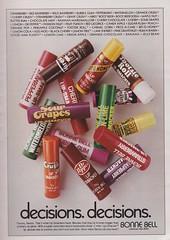 Bonne Bell Lipsmackers 1981 (moogirl2) Tags: vintage retro 80s 1981 seventeen vintageads vintagefashion 80sfashion lipsmackers bonnebelle