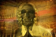 The Genius (happy.m0nster) Tags: portrait collage museum bach musik bste johan genie eisenach noten schdel klassik komponist johannsebastianbach bachhaus