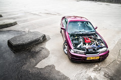 Nissan Silvia S14a (Edwin Peek) Tags: red wallpaper art canon photography eos japanese shoot nissan purple photoshoot engine machine sigma automotive turbo silvia 7d peek tuning edwin jdm rhd s14a silvias14a epeek