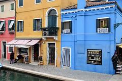 Burano : Jaune et Bleu (http://visiteursdumonde.com) Tags: venice venise burano venez