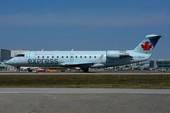 C-GNJA (Air Georgian) (Steelhead 2010) Tags: yyz crj canadair aircanada crj200 creg airgeorgian cgnja aircanadaexpress