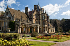 TYNTESFIELD HOUSE (REAR) (mark_rutley) Tags: england house gardens bristol nt gothic victorian somerset mansion nationaltrust clevedon wraxhall tyntesfieldhouse