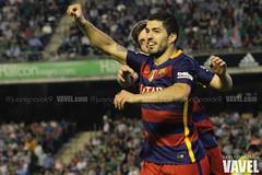 Betis - Barcelona 102 (VAVEL Espaa (www.vavel.com)) Tags: fotos bara rbb fcb betis 2016 fotogaleria vavel futbolclubbarcelona primeradivision realbetisbalompie ligabbva luissuarez betisvavel barcelonavavel fotosvavel juanignaciolechuga