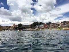 Copacabana, Bolivia (Maitemardones) Tags: sky lake titicaca water bolivia beautifulnature