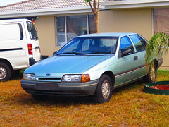 Unregistered Ford EA Falcon GL in Aldinga (RS 1990) Tags: ford sedan falcon april adelaide friday southaustralia ea 22nd gl unregistered 2016 aldinga