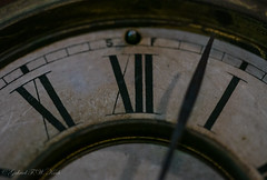 Past Witching Hour (Gabriel FW Koch) Tags: clock face canon eos hands dof time bokeh dial numbers numeral brass romannumerals