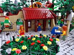 The People of Laaf (Swan Dutchman) Tags: fairytale mirror lego amusementpark efteling monorail attraction kaatsheuvel laven laaf volkvanlaaf lavenlaar peopleoflaaf