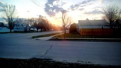 Spring sunrise. (Maenette1) Tags: menominee uppermichigan scenicmichigan