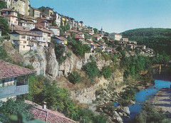 Ansichtkaart veliko tirnova Bulgaria vue gnrale (dickjan thuis) Tags: postcard bulgaria vue postkarte ansichtkaart veliko vuegnrale velikotirnova tirnova