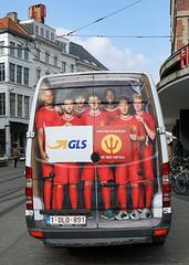 Cash shortage forces Belgium to change transport  arrangements for EURO 2016 (Neil Pulling) Tags: football belgium belgique van ghent gent gand flanders vlaanderen euro2016