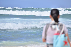 HWI_1051 (Ikuhito) Tags: ocean blue cloud beach hawaii oahu wave northshore