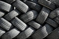 Pit Stop (Fabio Polimadei) Tags: blackandwhite bw monochrome wheel monocromo nikon tires biancoenero monocromatico