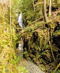 Lower Falls (Bob_2006) Tags: hike westvancouver wanderung cypressfalls