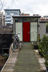 Amsterdam | Door's Series (?rutra) Tags: life street city travel red people house art water amsterdam bike private poster photography design europe doors outdoor tourist explore sell prospective hinking