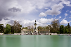 Alfonso XII (zsnajorrah) Tags: madrid park longexposure sky urban motion monument water statue clouds boat spain transportation nd retiro rowingboat parquedelbuenretiro elretiro ndfilter parquedeelretiro neutraldensityfilter monumentoaalfonsoxii elretiropark monumenttoalfonsoxii monumentoalfonsoxii alfonsoxiimonument buenretiropark 7dmarkii ef1635mmf4l x3nd10 madridcitymola|flickrphotosharing